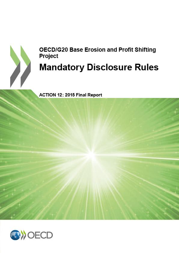 Action 12 - Mandatory Disclosure Rules