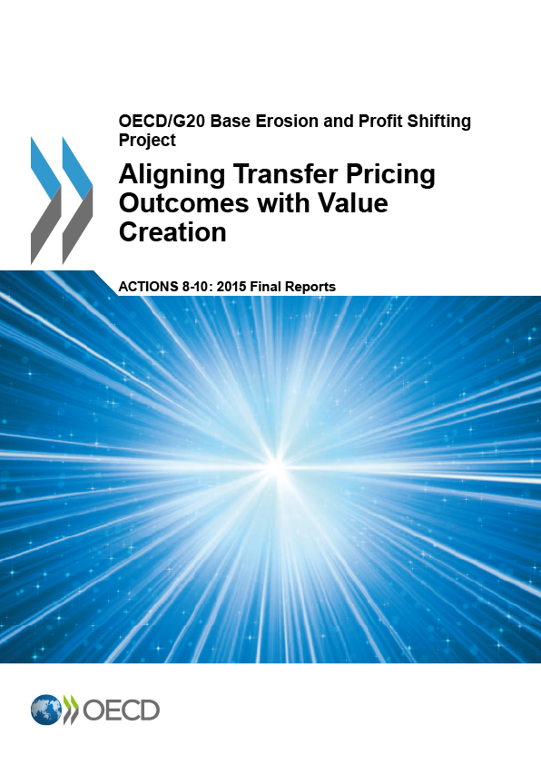 Action 8-10 - Aligning Transfer Pricing Outcomes with Value Creation