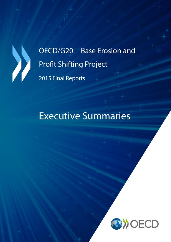 OECD G20 Base Erosion and Profit Shifting Project - Executive Summaries