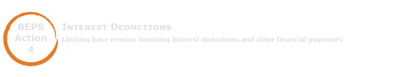 BEPS Action 4 - Interest Deductions
