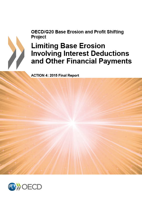 Action 4 - 2015 - Limiting Base Erosion Involving Interest Deductions And Other Financial Payments
